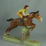 #939 Girl on Jumping Horse