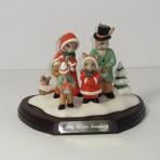 DB194 Merry Christmas Bunnykins Tableau