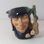 #670 Doulton Scaramouche Character Jug D6558