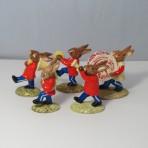 DB23-27 Bunnykins Red Oompah Band