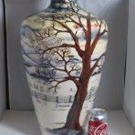 #2516 Moorcroft Woodside Farm Prestige Vase (72/20)