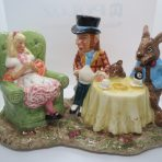 #2925 Beswick Mad Hatter's Tea Party (Limited Edition)