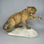 #1702 Puma on Rock (Tawny – large)