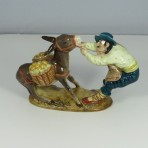Spaniard Pulling Donkey